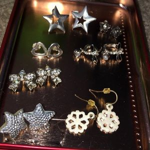 Christmas earrings and others